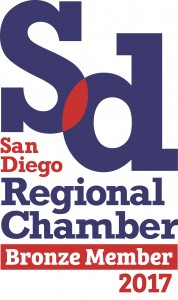 We are Proud Members of the San Diego Chamber